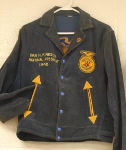 Ivan Kindschi's National FFA President's Jacket